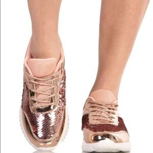 Sequin Sneakers NWT